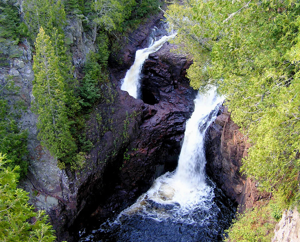 Devil's Kettle in Grand Marais in Minnesota