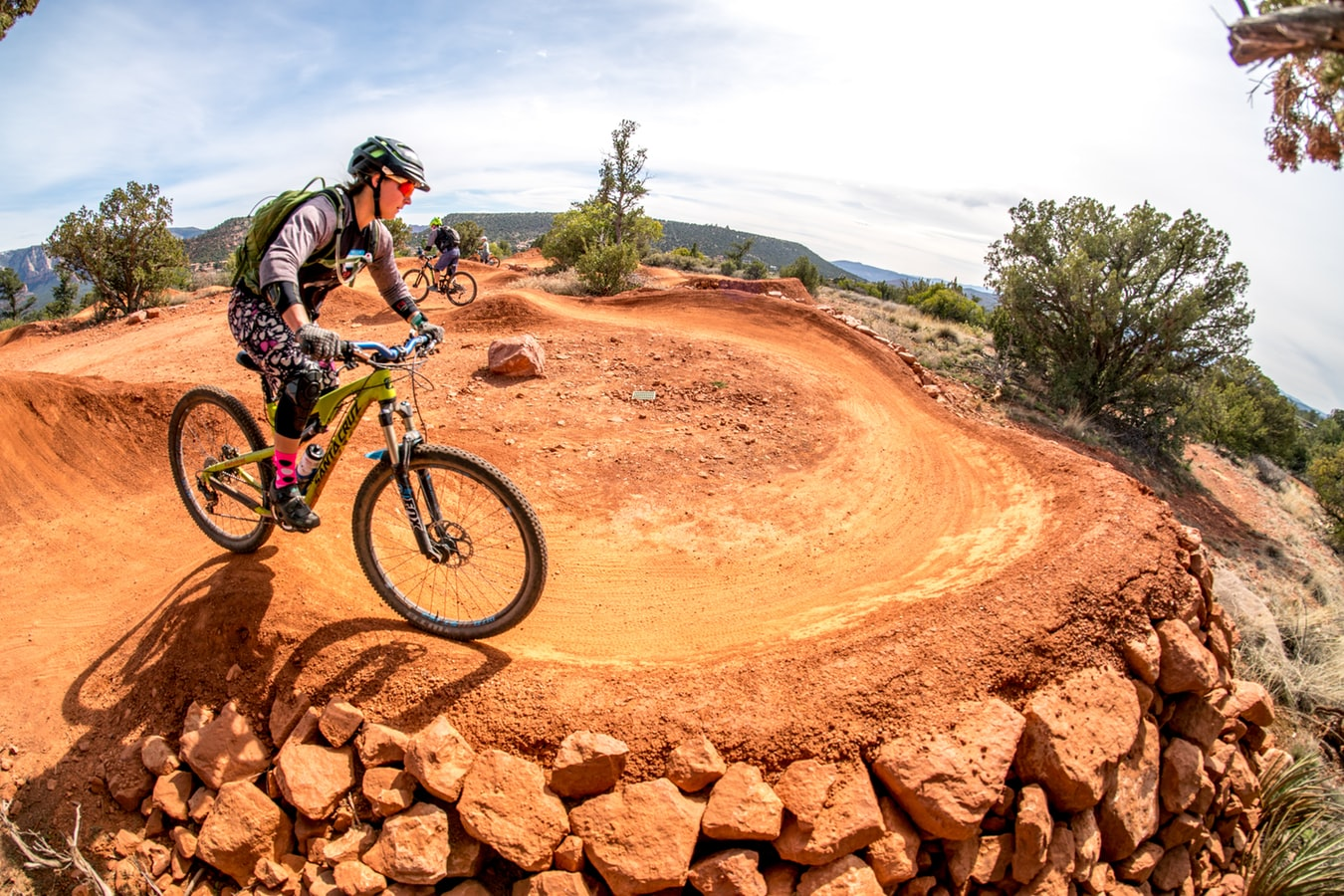 Mountain biking in Sedona, Arizona