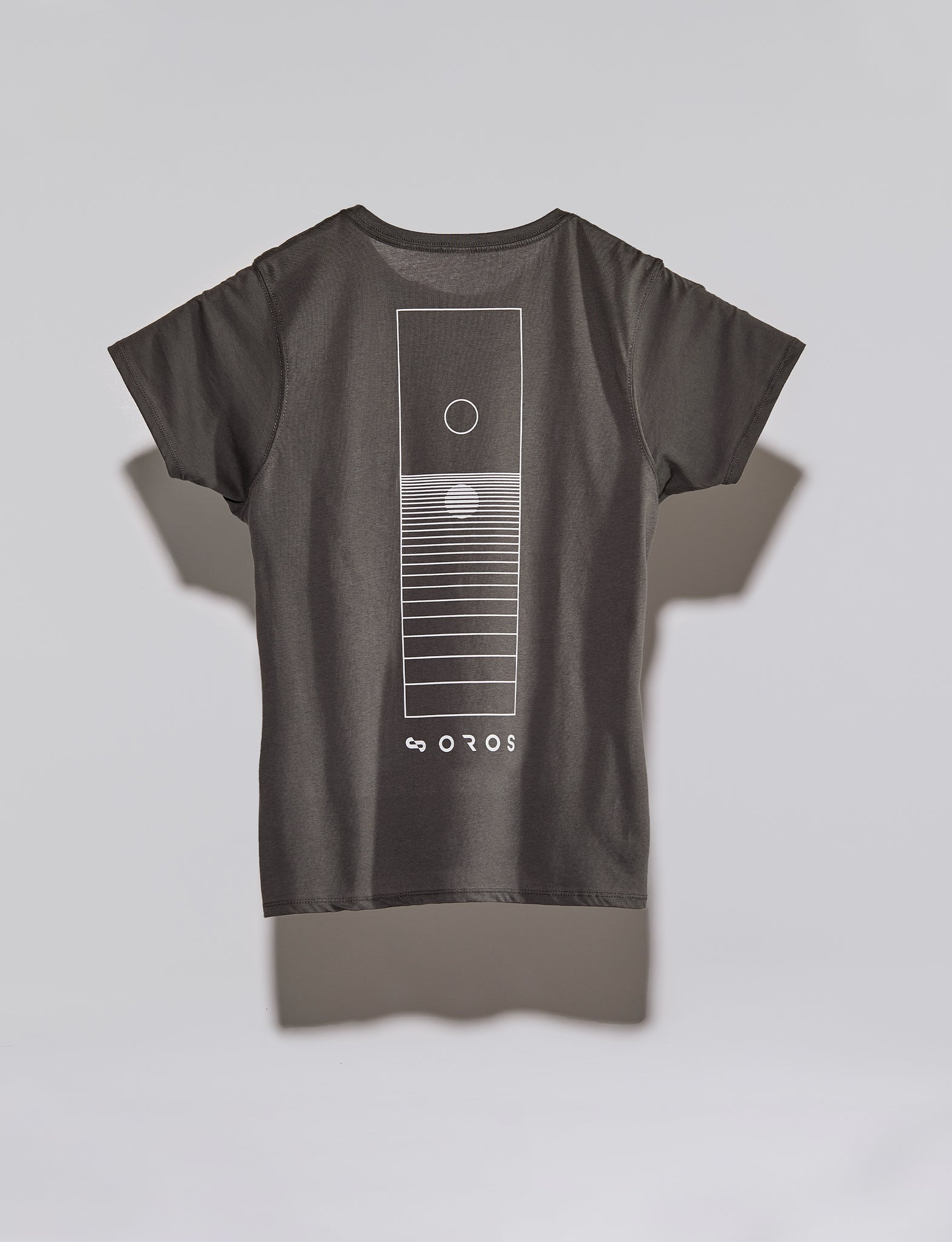 Women's Horizon t-shirt, color:Charcoal