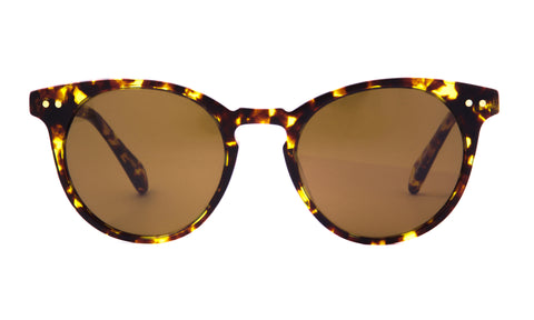 Oxford in Classic Tortoise + Brown