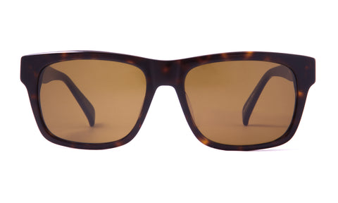 Wilshire in Dark Tortoise + Brown