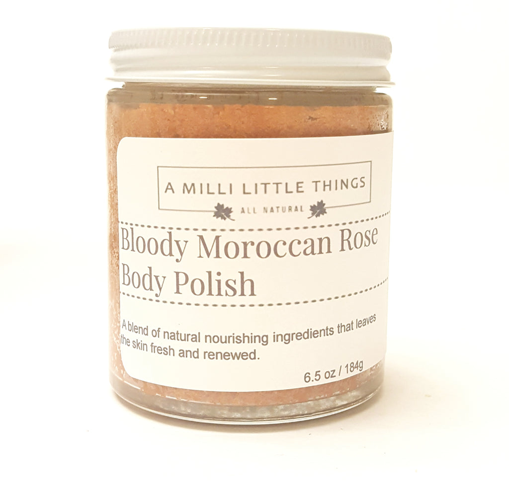 Bloody Moroccan Rose Body Polish