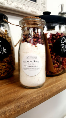 Coconut Rose Bath Milk