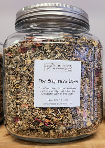 THE EMPRESS LOVE YONI TEA HERBAL BLEND