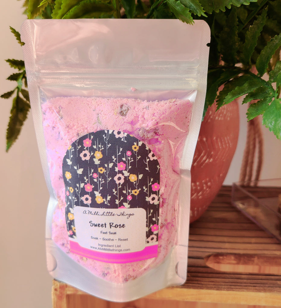 Sweet Rose Foot Soak