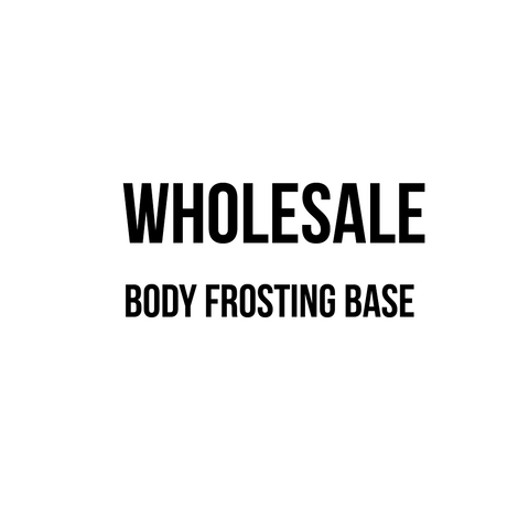 Body Frosting Base Wholesale