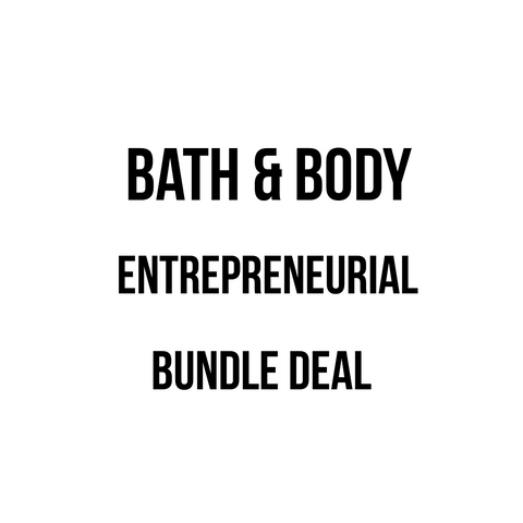 Bath & Body Wholesale Entrepreneur Package