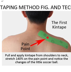 How to Kinesiology taping the back pain?