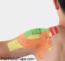 How to taping the shoulder for pain relief