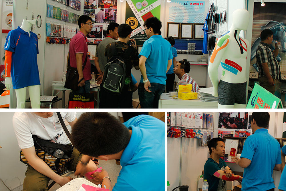 DL medical in china international sports goods exhibition