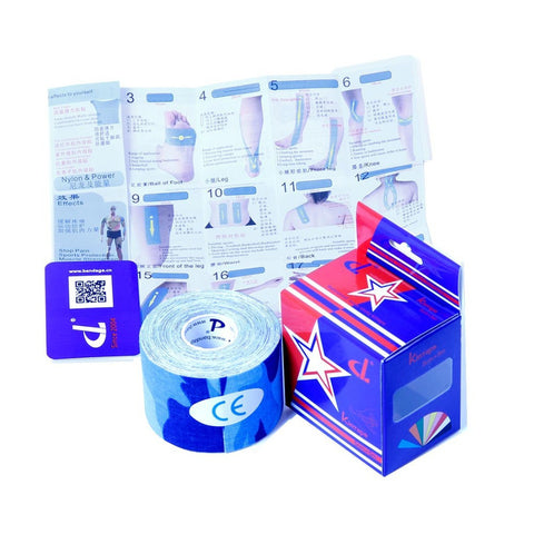 Kintape Camouflage Union / Jack Flag /  design Kinesiology tape - DL030210 [FOB Price] - DL-  tapes and bandages manufacturer-Kintape Roll-Customizable Order Service-DLbandage