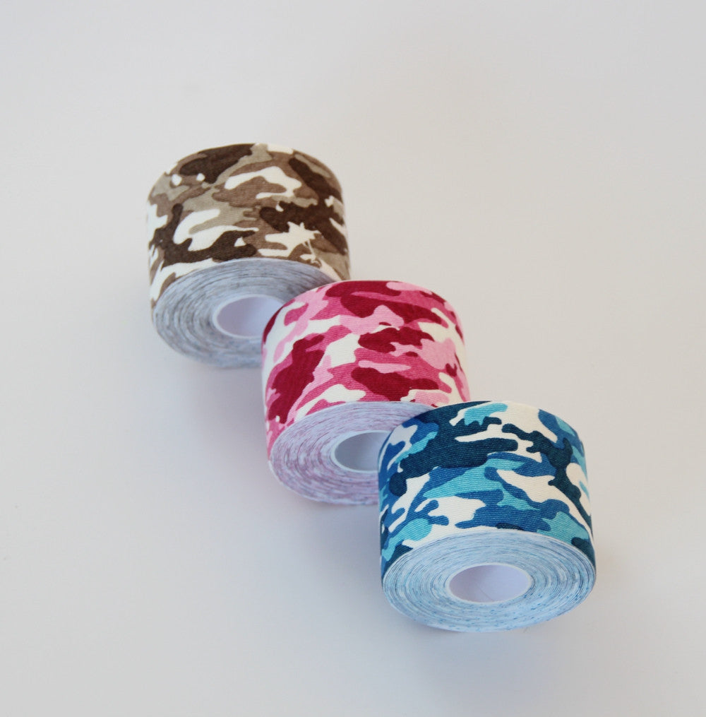New Camouflage Kinesiology tape | Cotton | 5cm x 5m with FOB price - DL - 1