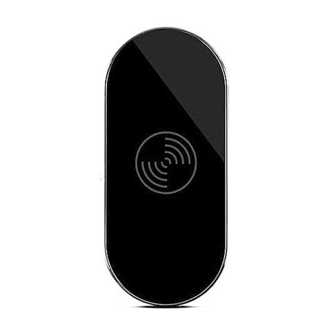 Triple Coil Qi Wireless Charging Pad Transmitter - Black