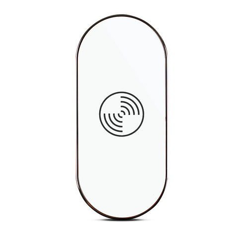 Triple Coil Wireless Charging Transmitter for Samsung Galaxy S6 Edge Plus - White