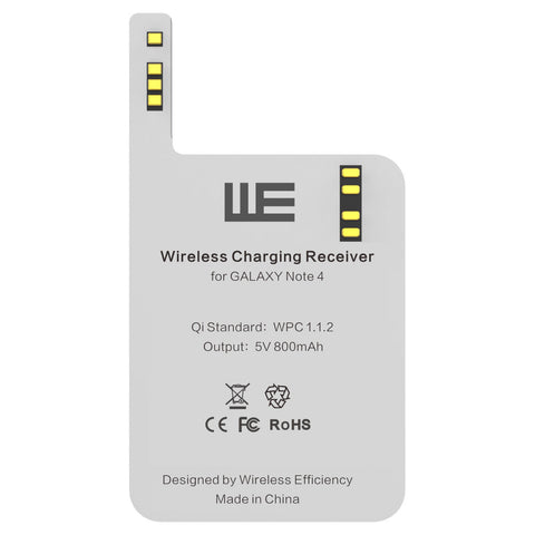 Qi Wireless Charging Card Receiver for Samsung Galaxy Note 4