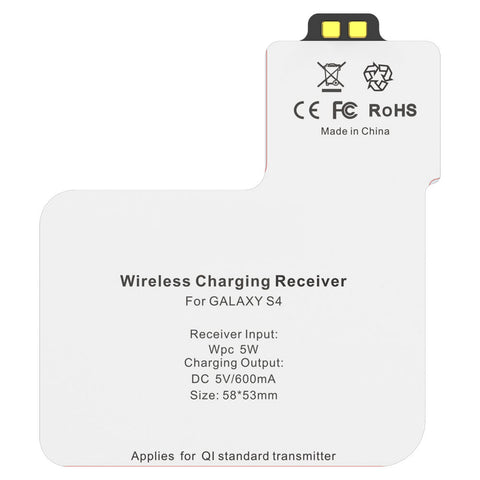 Qi Wireless Charging Card Receiver for Samsung Galaxy S4