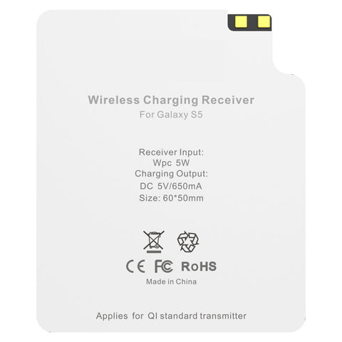 Qi Wireless Charging Card Receiver for Samsung Galaxy S5