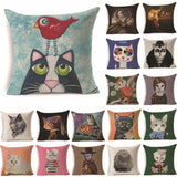 Cat cushion cover RIANCY