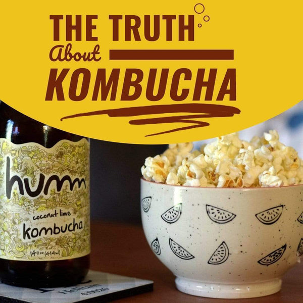 Truth About Kombucha - Pros, Cons & How To Get The Good Without The Bad!