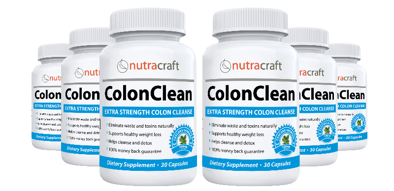 2 ColonClean Colon Cleanse & Detox Bottles