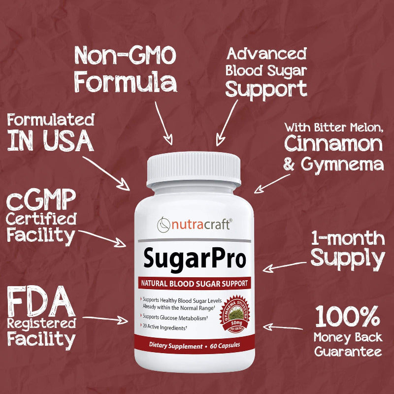 SugarPro Blood Sugar Support
