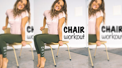 At home Chair Workout with Mikaela Di-Blasio