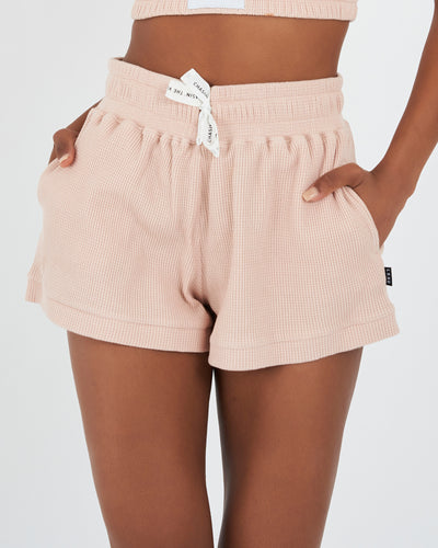 Form Shorts - Dusty Pink