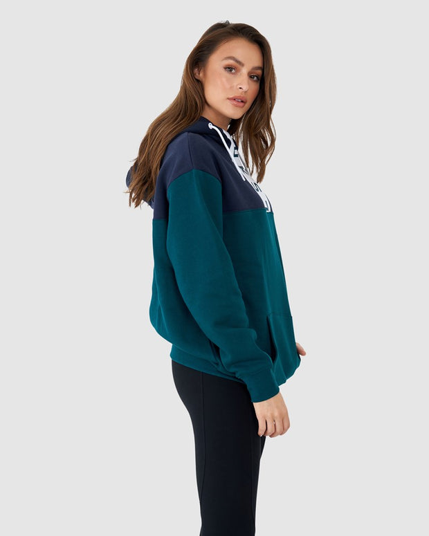 Unisex Contrary Pullover Hood Oversize - Deep Teal