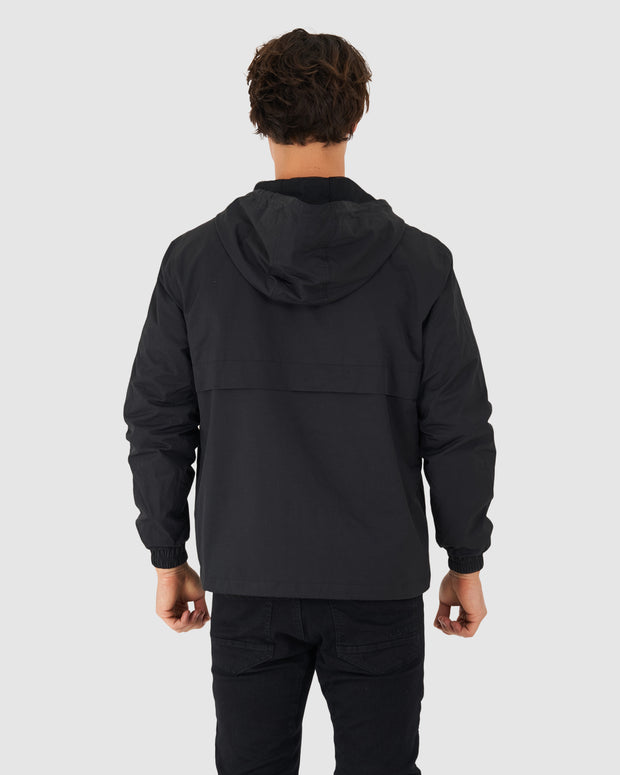 Burrell Track Jacket - Black