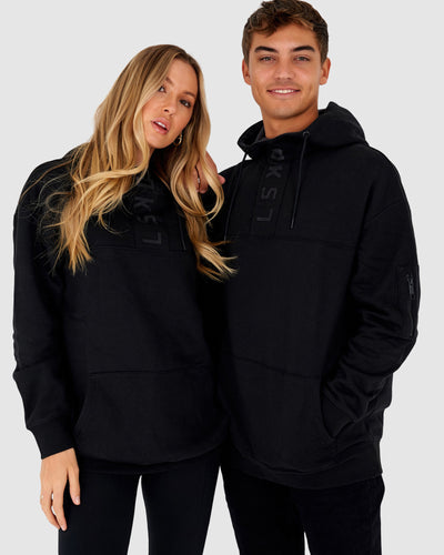Unisex Contrary Pullover Oversize - Black