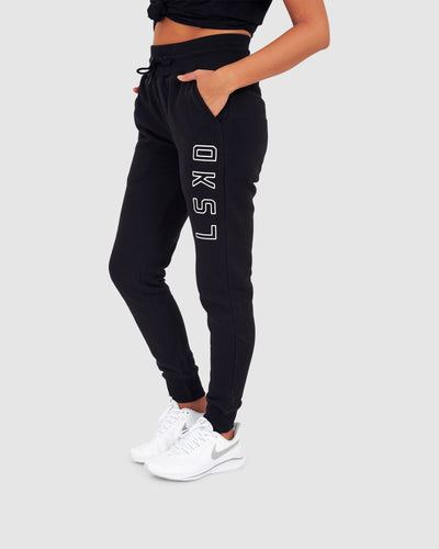 Unisex Tidy Trackpant - Black