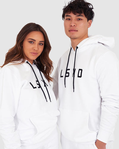 Unisex Structure Pullover - White - Pre-Order