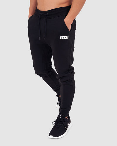 Ease Trackpant - Black