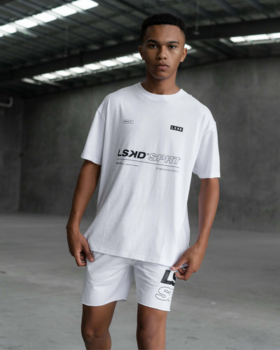 International Tee Oversize - White