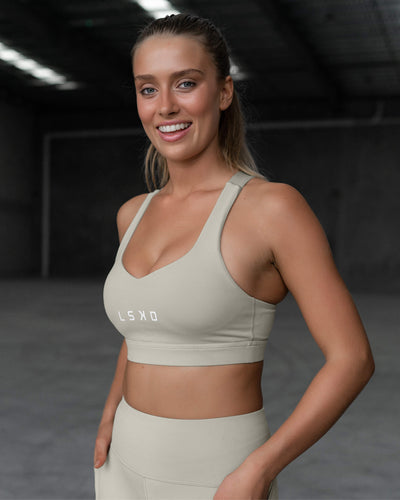 Rep Sports Bra - Pussywillow