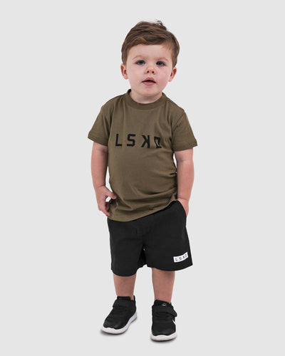 Structure Tee - Burnt Olive (00-6)