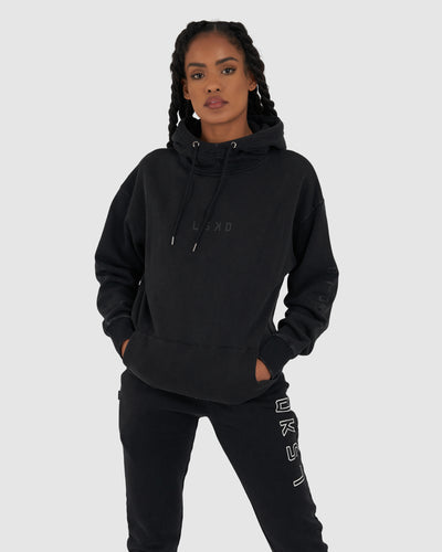 Unisex Connivance Pullover - Black Acid