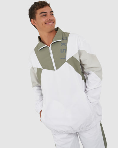 Pre-Game Track Jacket - White