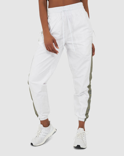 Unisex Pre-Game Trackpant - White