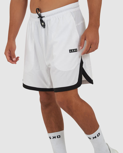 Shift Short - White
