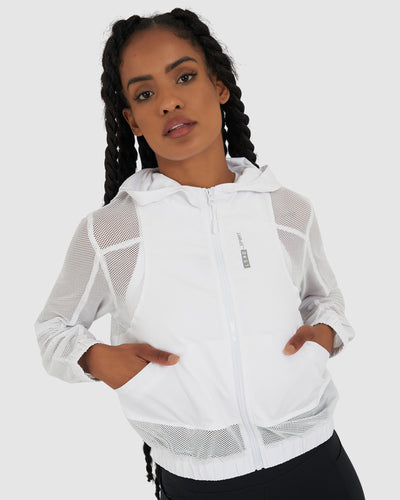 Court Jacket - White