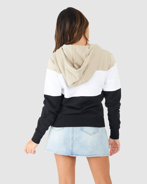 Shape Pullover - Taupe-Black
