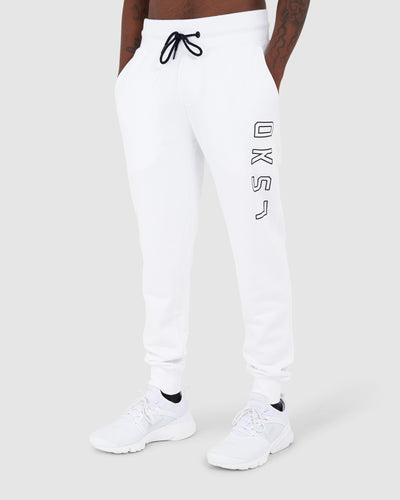 Tidy Trackpant - White