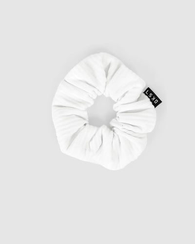 Grind Scrunchie - White