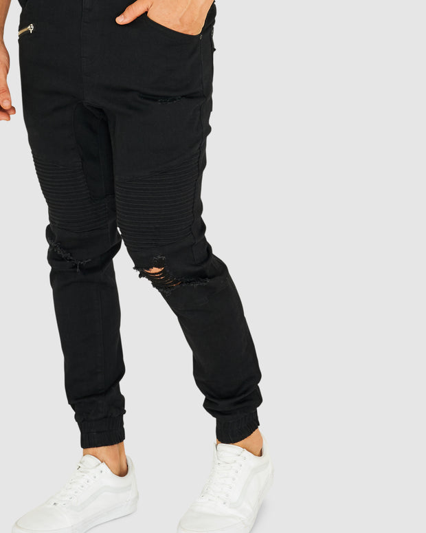 Torment Denim Pant - Black