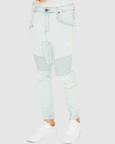 Torment Denim Pant - Sun Bleach