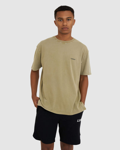 The Reverse Tee Oversize - Pigment Dusty Olive