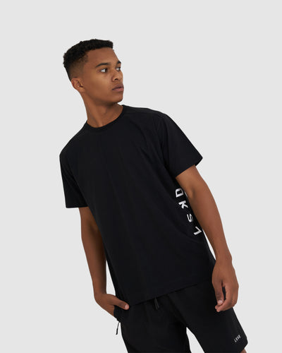 Flex Tee - Black-White