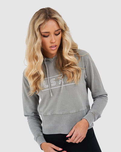 Outline Pullover - Pilled Pigment Pewter