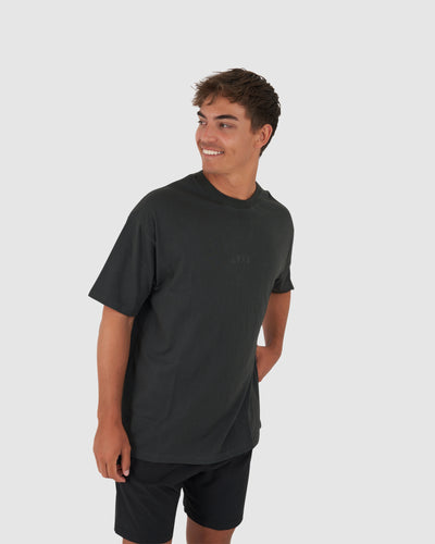 Field Tee Oversize - Pirate Black